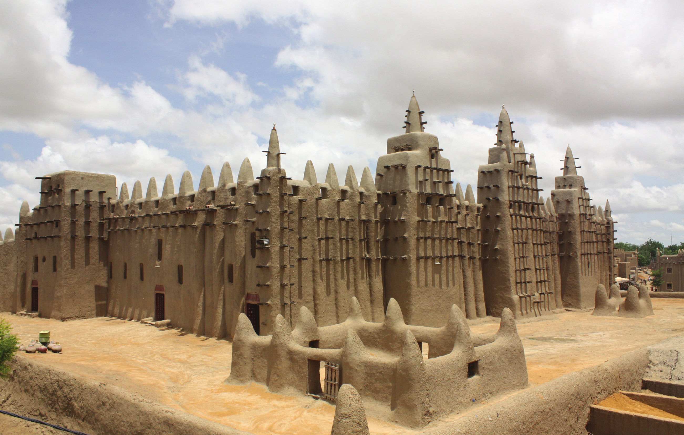 The city of Timbuktu, Sahara Desert